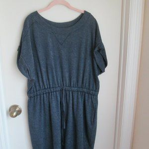 LANE BRYANT FRENCH TERRY NAVY CASUAL Dress